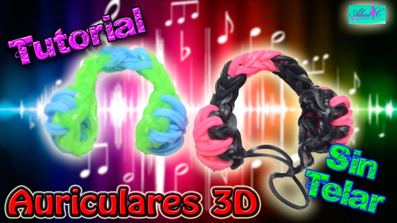 2e7f88b054c3 ♥ Tutorial: Auriculares de gomitas en 3D (sin telar) ♥