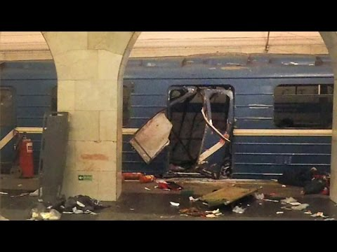 Latest on deadly St. Petersburg subway explosion