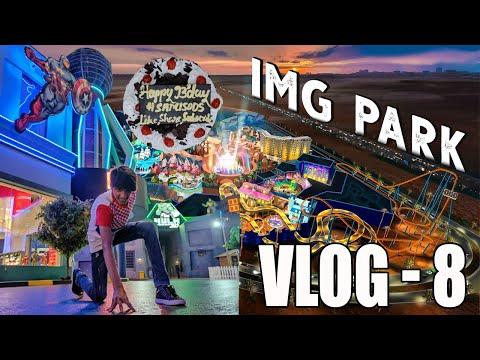 VLOG – 8 | BIRTHDAY IN DUBAI | IMG WORLDS | SAMISODS |