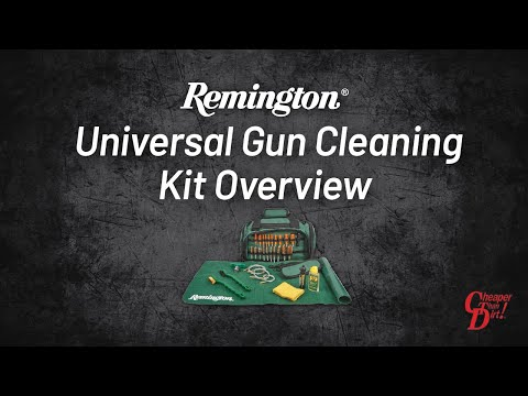Remington Universal Gun Cleaning Kit Overview