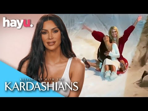 Kim Kardashian Gets Drunk At The Christmas Eve Party | Season 16 | Keeping Up With The Kardashians