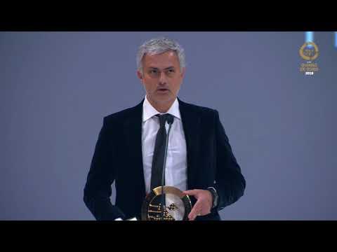 Quinas de Ouro 2018: José Mourinho homenageado com o Prémio Vasco da Gama