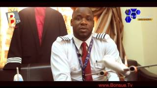 Video Exclusive Interview with NIGERIA39S YOUNGEST PILOT Daniel Adeyileka - BonsueTvDiscovery