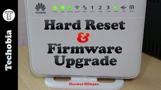 How to Upgrade Firmware of Huawei HG 630a | Hard Reset Modem | Airtel VDSL Broadband | CWMP