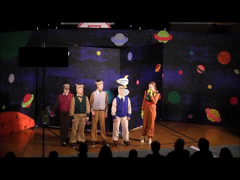 """""""Gulliver's Travels"""" in Space - Hot Springs School - Missoula Children's Theater - 2019"""