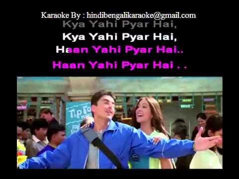 Chalte Chalte Yunhi - Karaoke - Mohabbatein (2000) - Shweta Pandit, Sonali Bhatawdekar, Pritha ...