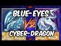 BLUE-EYES vs CYBER DRAGON  (Yu-gi-Oh Competitive Deck Duel)