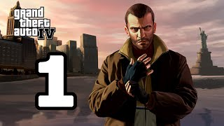 Grand Theft Auto IV Walkthrough Part 1 - No Commentary Playthrough (PC)