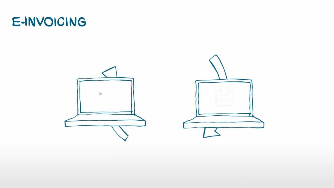 Einvoicing Is Easy Invoicing YouTube - Electronic invoice format