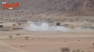 شاهد:  لقطات توثق تساقط قذائف مليشيات الحوثي على منازل المواطنين في مارب