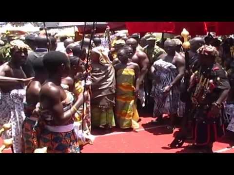 HISTORY OF THE ASANTEHEMAA AND HIS SON OTUMFOUR OSEI ABABIO TUTU II AND THE ASANTE KINGDOM...PART 2