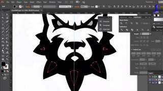 RED DOG  sport mascot   Speed art by jmax logo