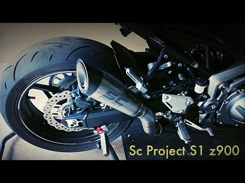 SC PROJECT S1 z900 exhaust sound ! - YouTube