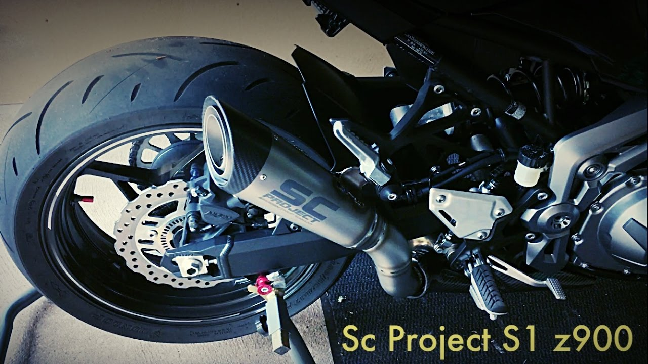 SC PROJECT S1 Z900 Exhaust Sound
