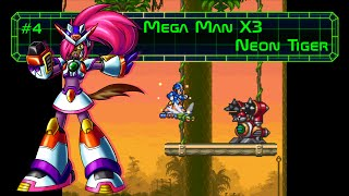Mega Man X3 - Neon Tiger Stage