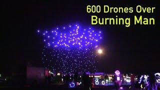 Burning Man 2018 Drone Show