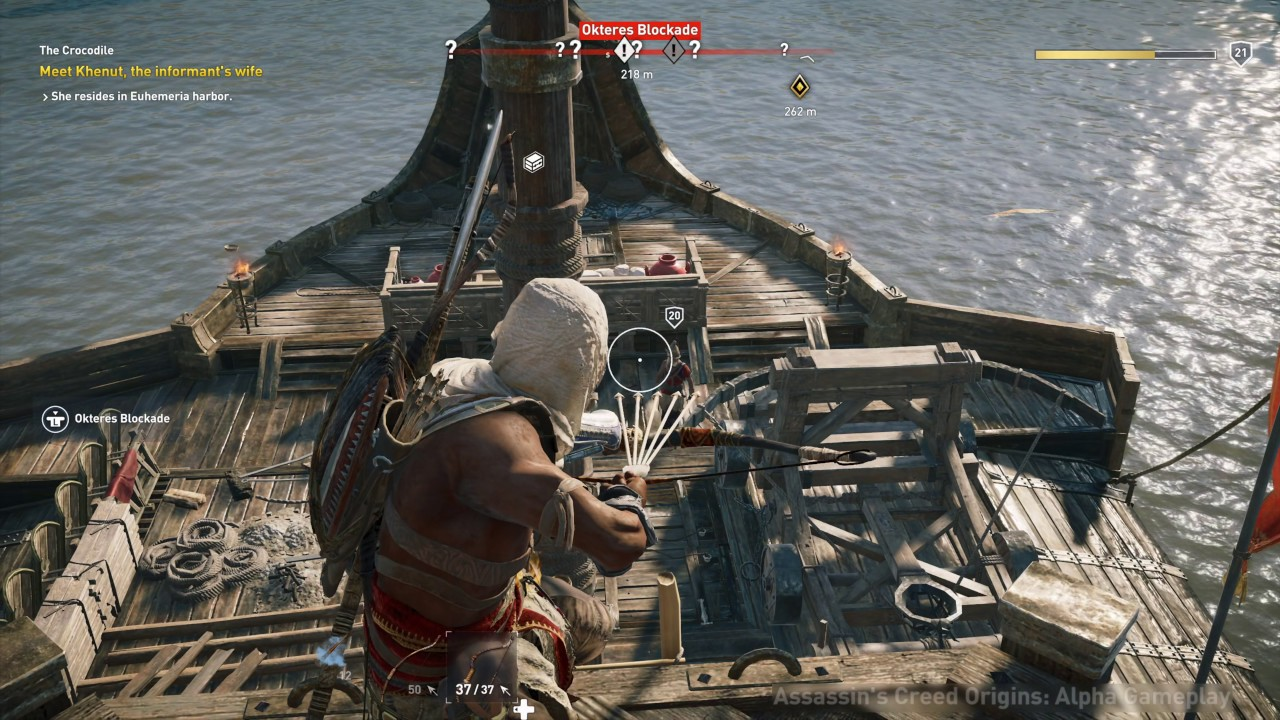 Assassin's Creed Origins 4K Xbox One X Gameplay - YouTube