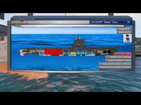 Evolución Diseño Casco Submarinos / Evolution Submarine Hull Design / ARMA 3 Cinematic Machinima