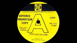 Lucas & The Mike Cotton Sound - Step Out Of Line