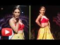 Hot Malaika Arora Rampwalk In Red Yellow Lehenga Choli | Lakme Fashion Week 2017 Grand Finale