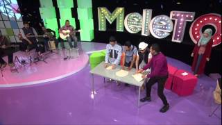 MeleTOP - Afgan vs. Harris J Dalam Cabaran Tebar Roti Canai! Ep162 [8.12.2015]