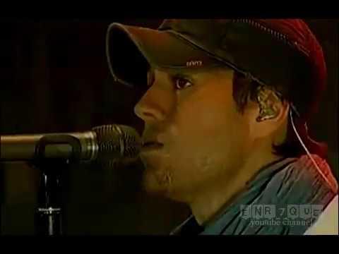 Download Enrique Iglesias - Lloro por ti (LIVE)