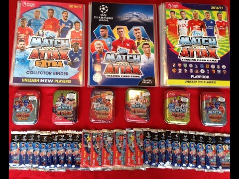 Final Chance To Complete Topps Match Attax Premier League, UEFA Champions League & Extra Collections