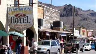OATMAN ARIZONA ~ OLD MINING GHOST TOWN [HD]