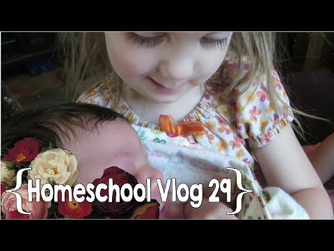 Homeschooling with Our New Baby ║ Hang Out with This Homeschool Mom of 9 │ School Week 29