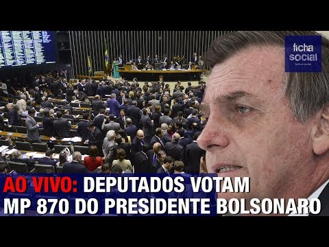AO VIVO: DEPUTADOS VOTAM MP 870 DO PRESIDENTE JAIR BOLSONARO - MINISTÉRIOS, SERGIO MORO