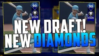 NEW DRAFT! AND NEW DIAMONDS! MLB The Show 17 | Battle Royale