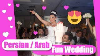 Persian, Arabic, HipHop Wedding in Toronto - DJ Borhan 2014