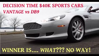 Is the Aston Martin DB9 better than the Vantage? Back to back comparison, the answer will shock you!