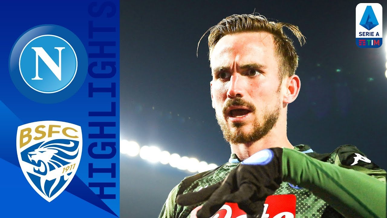 Brescia 1-2 Napoli | Fabian Wonderstrike And Insigne Pen Sees Napoli Win From Behind! | Serie A TIM