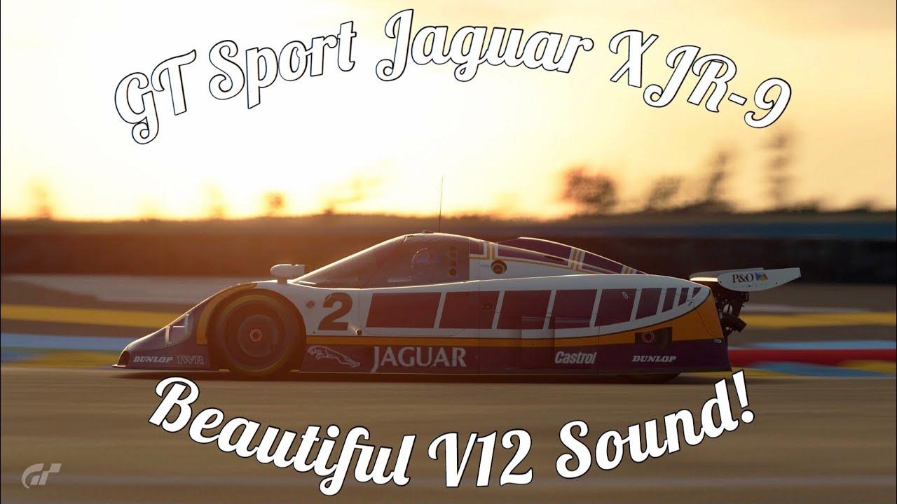 GT Sport Jaguar XJR-9 Gameplay! Just Like I Remember! - YouTube