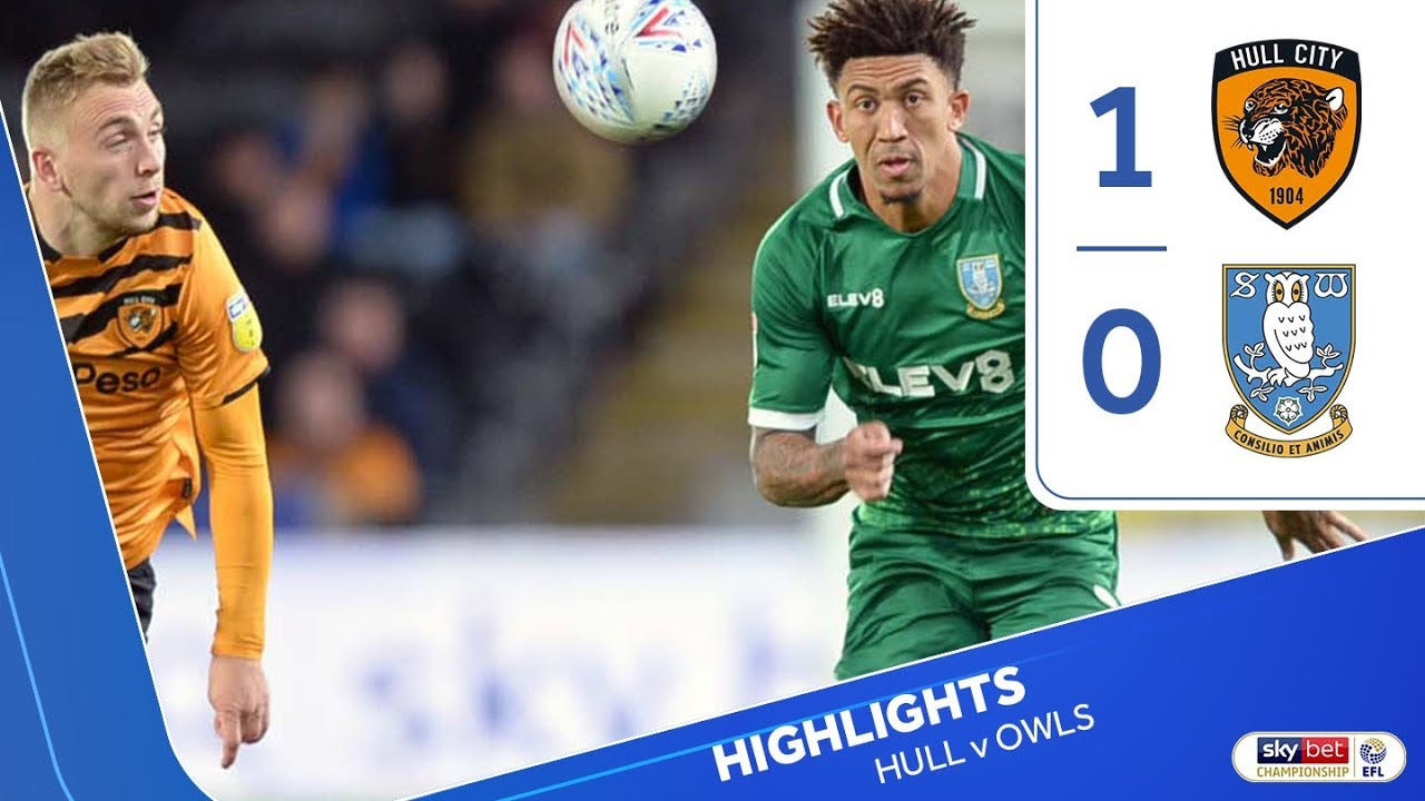 Hull City 1 Sheffield Wednesday 0 | Extended highlights | 201920