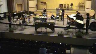 Toccata mvt 3 by Carlos Chavez (performed by percussion ensemble Splash - Romania)