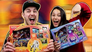DE EERSTE SUN AND MOON KAARTEN!! - Pokemon Pack Opening #13