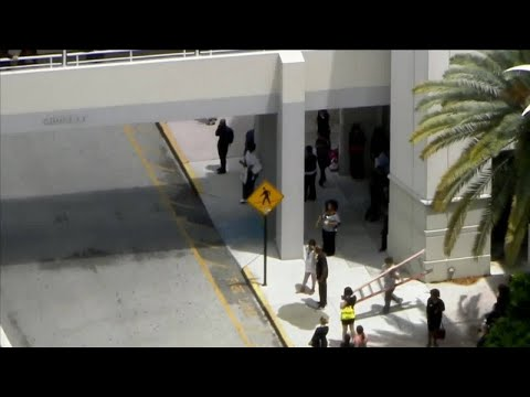 Fire Extinguished On Roof Of JCPenney Store At Pembroke Lakes Mall