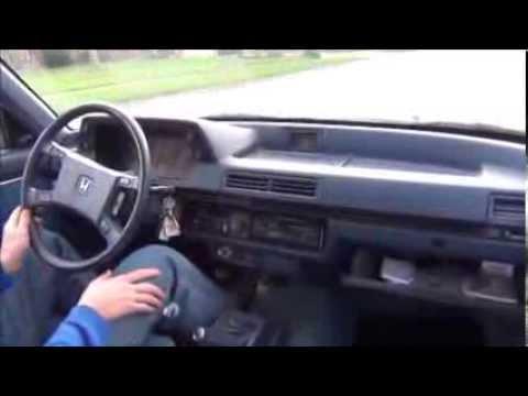 1985 Honda Accord >> 1985 Honda Accord 5MT Quick Drive - YouTube