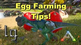 ARK: Survival Evolved - Egg Farming, Featuring Oviraptor Boost!