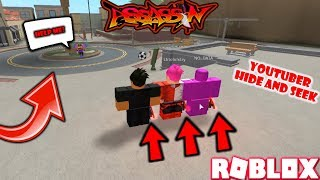 ROBLOX | ASSASSIN: YOUTUBER ONLY HIDE AND SEEK #2 (W/ THE ASSASSIN CREW) *BULLYING WEIRDBREAD*