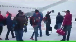 Avion iesit de pe pista aeroport Cluj - Romania