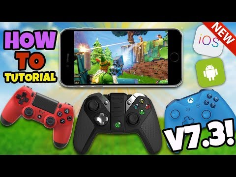 *NEW* How To Use A Controller In Fortnite Mobile - Fortnite IOS Android UPDATE V7.3 (No Hack/Cheat) thumbnail