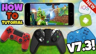 *NEW* How To Use A Controller In Fortnite Mobile - Fortnite IOS Android UPDATE V7.3 (No Hack/Cheat)
