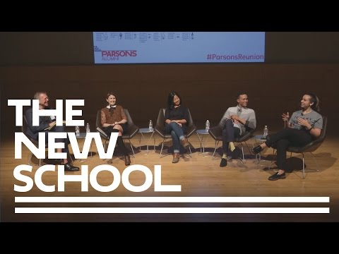Parsons Reunion - Branching Out: Alumni Design New Paths to Success