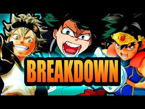 Jump Force — Deku, Dai & Asta Breakdown
