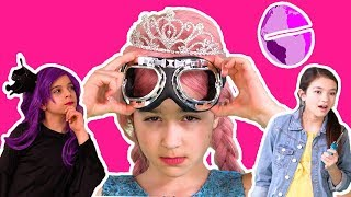MALICE GOES TOO FAR? 🌎The Princesses have to fix the world! - Princesses In Real Life | Kiddyzuzaa