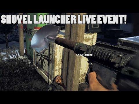SHOVEL LAUNCHER EVENT! - Far cry 5 White Collar Job