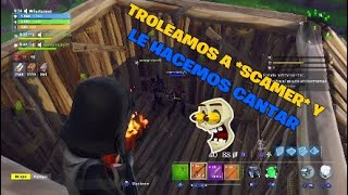 """WE TRUNT A """"SCAMER"""" AND MAKE YOU SCANTAR CHILDREN'S SONGS-CreedRex12 Fortnite Save the World"""